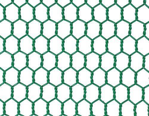 PVC Green Wire Netting 500mm X 50mm 10m