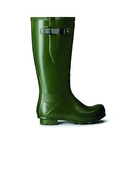 Hunter Mens Norris Adjustable Field Boot Green