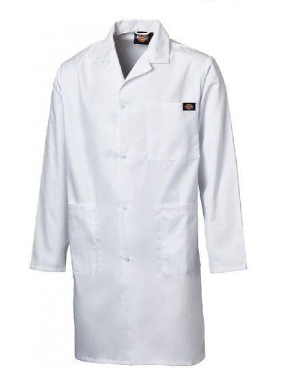 Dickies WD200 Redhawk Warehouse Coat White