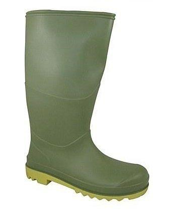 Berwick Children Wellington Boot Green