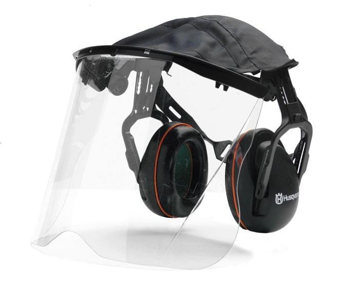 Husqvarna Hearing Protectors With Perspex Visor