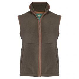 Alan Paine Aylsham Fleece Mens Waistcoat Green