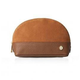 Fairfax & Favor Ladies Chiltern Leather Cosmetic Bag