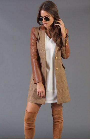 Holland Cooper Ladies Chelsea Coat Tawny