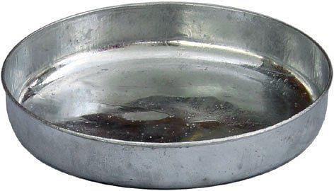 """Galvanised Chick Feed Tray 12"""""""