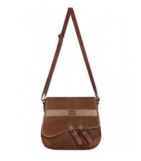Dubarry Ladies Boyne Cross Body Bag Walnut