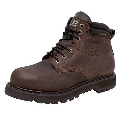 Hoggs of Fife Tornado Safety Boot Crazy Horse Brown