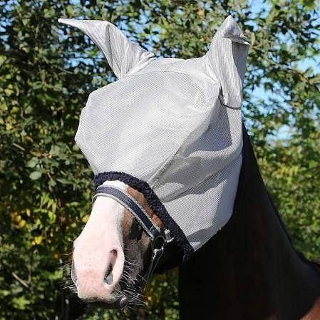 Horseware Amigo Flymask Silver / Navy