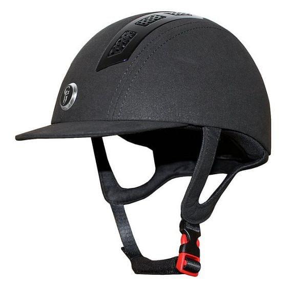 Gatehouse Junior Chelsea Air Flow Pro Suedette Riding Hat Black