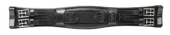 Jeffries Premium Shaped Dressage Girth Black