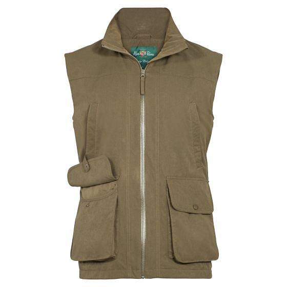 Alan Paine Durham Mens Waterproof Waistcoat Olive