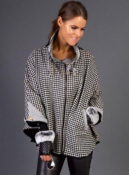 Holland Cooper Ladies Limited Edition Houndstooth Cape