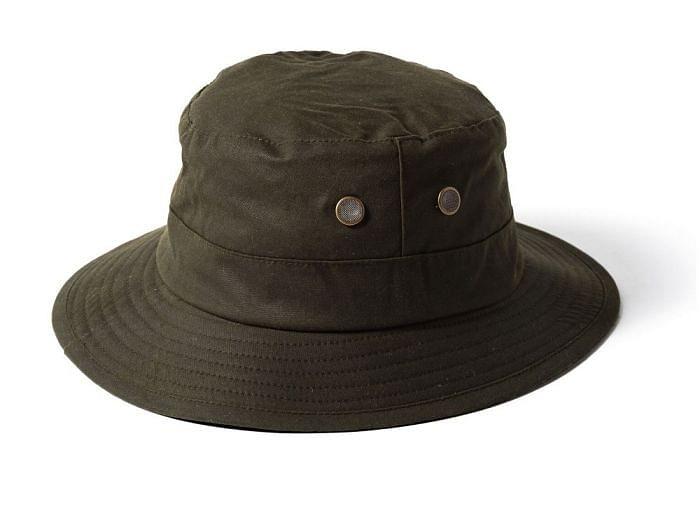 Failsworth Waxed Fisherman's Hat Olive