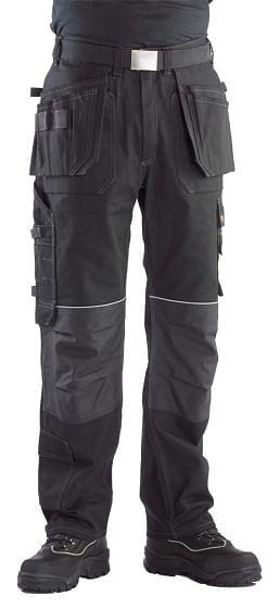 Buckler Buckskinz Trousers Black BX001