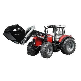 Bruder Toy Massey Ferguson 7480 Tractor With Loader