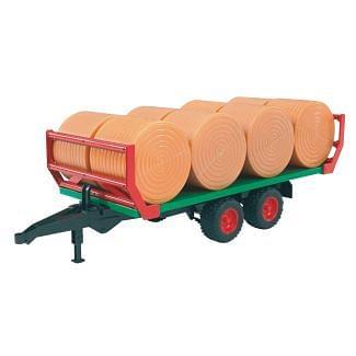 Bruder Bale Transport Trailer Toy