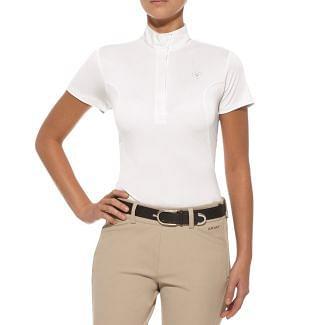 Ariat Ladies Aptos Show Top White