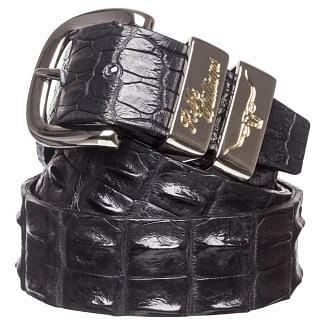 RM Williams Mens Crocodile Leather Belt | Chelford Farm Supplies