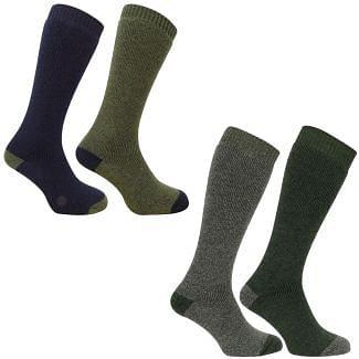 Hoggs of Fife Mens Country Long Socks 2 Pack - Cheshire, UK