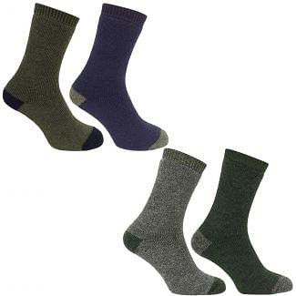 Hoggs of Fife Mens Country Short Socks 2 Pack - Cheshire, UK