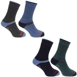 Hoggs of Fife Mens Tech Active Socks 2 Pack - Cheshire, UK