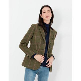 Joules Ladies Gillingham Longline Tweed Blazer | Chelford Farm Supplies