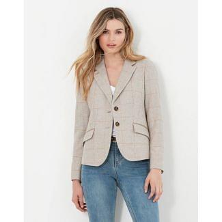 Joules Ladies Enid Short Tweed Blazer | Chelford Farm Supplies