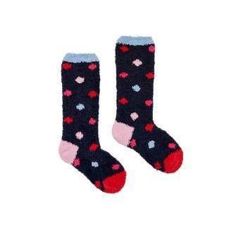 Joules Kids Girls Fluffy Socks