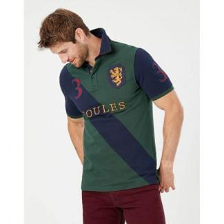 Joules Mens Embellished Polo Shirt