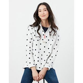 Joules Ladies Pip Casual Half Zip Sweatshirt