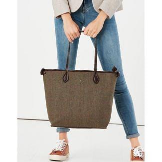 Joules Ladies Adeline Tweed Tote Shopper Bag