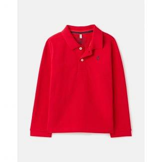 Joules Kids Boys Woodwell Long Sleeve Polo Shirt
