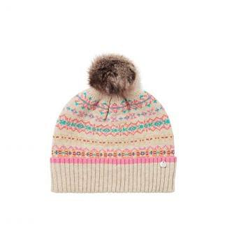 Joules Ladies Christina Fairisle Hat