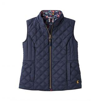 Joules Kids Girls Minx Quilted Gilet