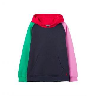 Joules Kids Girls Lucas Hooded Sweatshirt