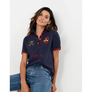 Joules Ladies Beaufort Luxe Embroidered Polo Shirt