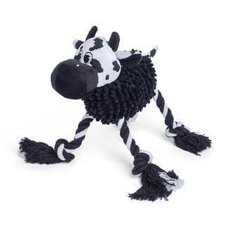 Petface Noodle Cow Dog Toy