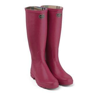 Le Chameau Ladies Iris Jersey Lined Wellington Boots