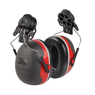3M Peltor X3 Ear Defender 32snr Helmet Mount | Chelford Farm Supplies