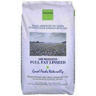 Charnwood Micronised Full Fat Linseed Meal Horse Feed 20kg