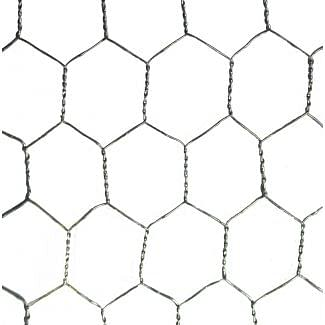 Galvanised Wire Netting 600mm X 13mm 10m