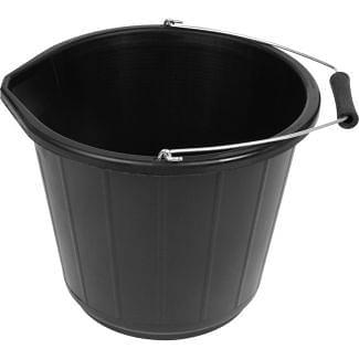 Poly Builders Bucket 3 Gallon Black