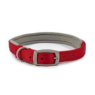Ancol Heritage Padded Nylon Dog Collar Red