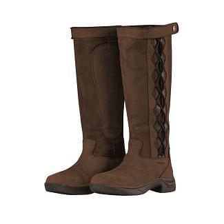 Dublin Ladies Pinnacle II Country Boots Chocolate
