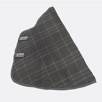 Horseware Rhino 150g Stable Rug Hood Charcoal/Grey/White/Charcoal