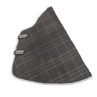 Horseware Rhino 150g Stable Rug Hood Charcoal/Grey/White/Grey