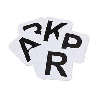 Shires Adhesive Dressage Letters 12 Pack