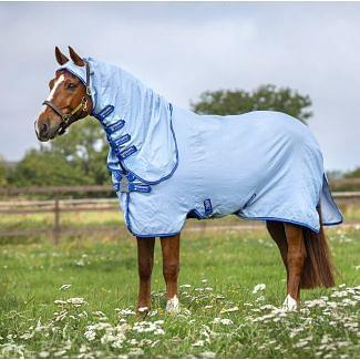 Horseware Amigo Ripstop Hoody Rug Blue/Silver