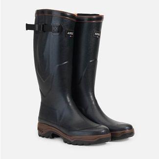 Aigle Parcours 2 Vario Adjustable Anti-Fatigue Wellington Boots Bronze