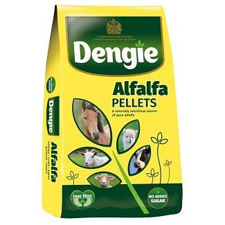 Dengie Alfalfa Pellets Horse Feed 20kg